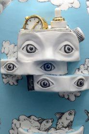 Le Gyroscope- Sculpture porcelaine