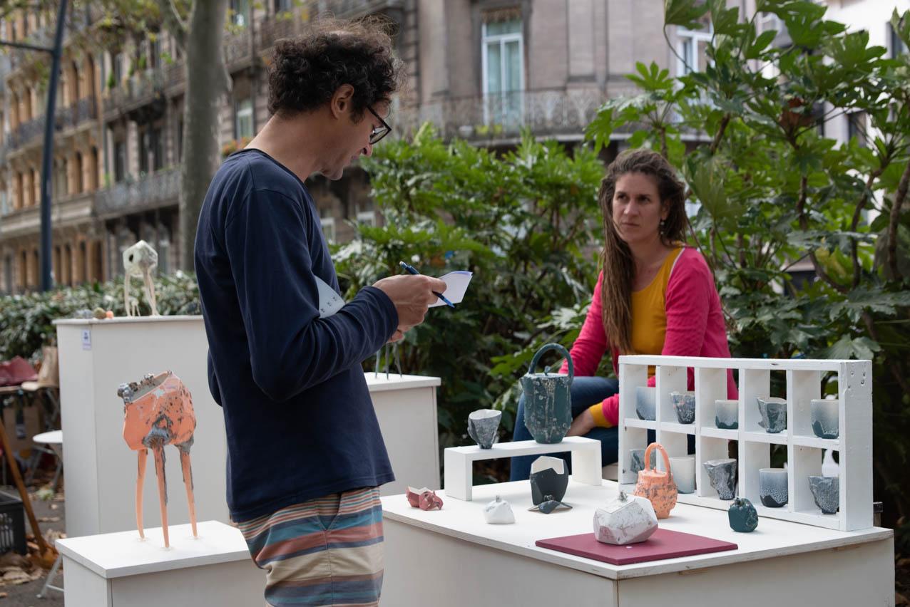 Allees ceramiques 2019 Stand LucieSangoy1 Photo JLogeay | Terre et Terres | Marché Toulouse | Les Allées Céramiques Annulé à Toulouse les 10 et 11 octobre 2020 | Article | Terre et Terres | 8 octobre 2020