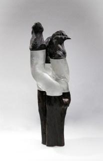 pate de verre 2 | Nathalie Charrié | birdy guys | Produit | 720,00€ | 6338 | Faïence, bois, fer 2020 | Nathalie Charrié - Artiste céramiste | Terre et Terres | 10 décembre 2020