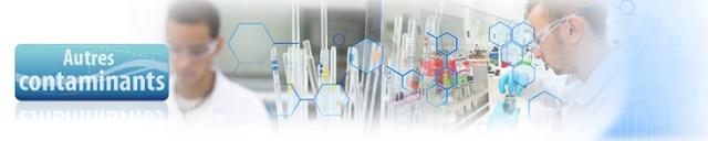 analyse des contaminants spécifiques
