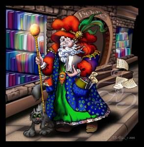 """Wizard"" (c)2005 Digital Art"