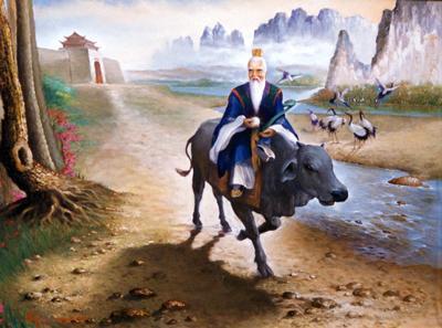 Lao Tseu sur le chemin