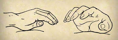 Les mains en massage Tuina