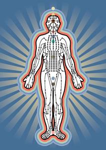Les méridiens et points énergetiques en Médecine Chinoise