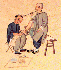Réflexologie plantaire chinoise