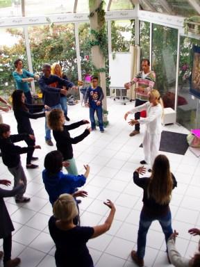Cours de Qi Gong des Six Sons à Terre d'Asie avec Catherine Bousquet