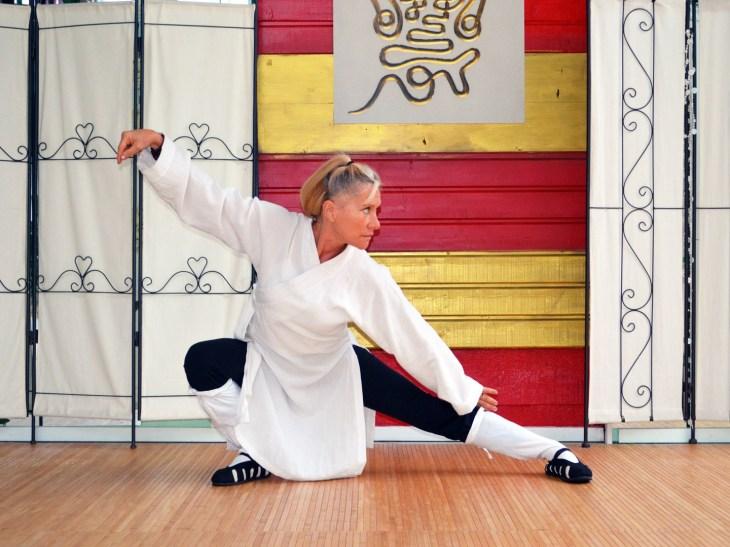 Taiji Quan style Yang par Catherine Bousquet au centre Terre d'Asie à Dax