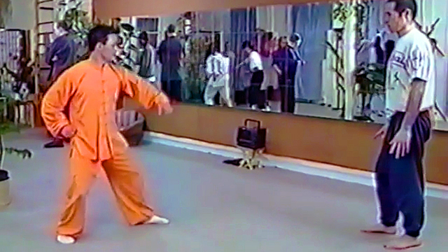 Applications de Bagua avec Maître Zhang Kunlin