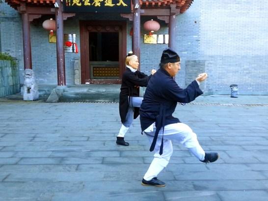 Xing Yi Quan avec Maître Chen Li Sheng et Catherine-Isaure Bousquet au Wudang