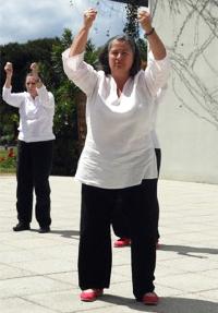 Journée du Qi Gong, Isabelle DÉJEAN