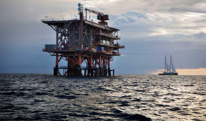 Piattaforma petrolifera, Giornale della Vela