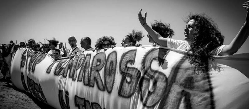 Stop Tempa Rossa Taranto (Maurizio Greco)