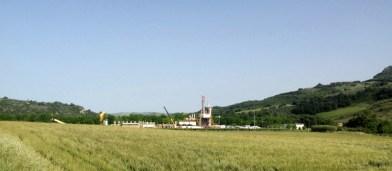Stoccaggio gas Fiume Treste verso l'ampliamento