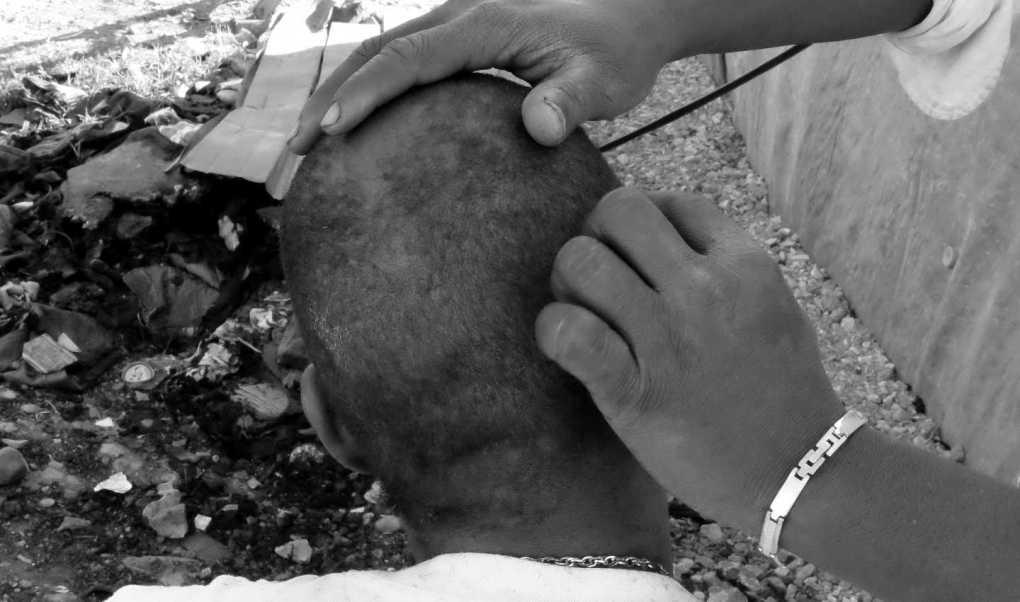 La rasatura, Leonardo Palmisano