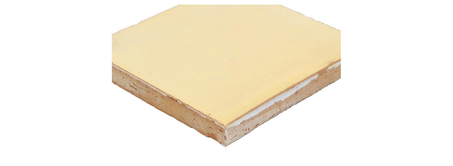 faiences unies du orange au jaune 10 5 x 10 5 cm
