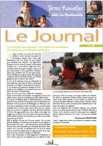 Journal Terres Nouvelles 2018-2