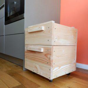 Lombricomopsteur d'appartement - Composteur d'appartement