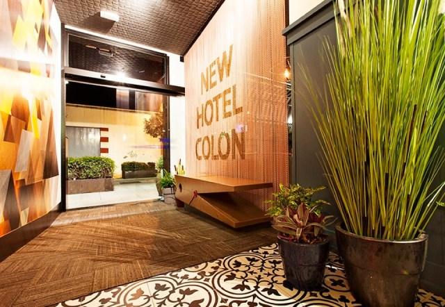 visita el new hotel colon. onikot. entrada