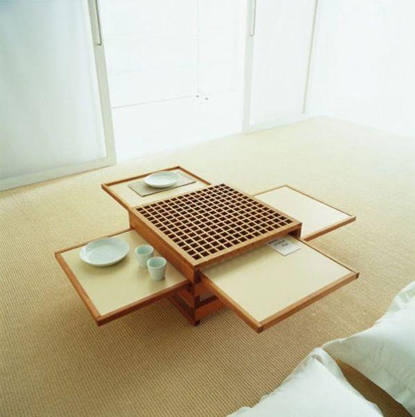 como decorar espacios pequeños. mesa a medida