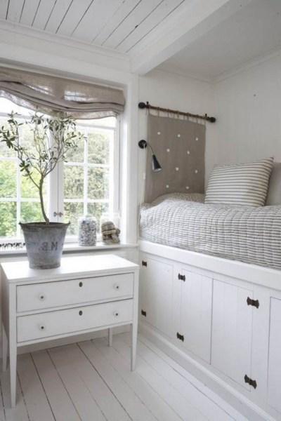 como decorar un espacio pequeño. cama a medida