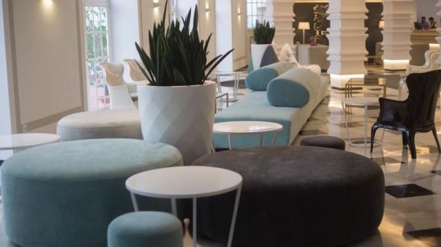 diseño de interiores hotel Monte Triana. lounge gral