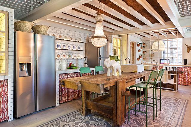 decoradores de interiores. cocina de guille garcía-hoz