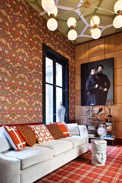 jean porsche. decoración de salones modernos