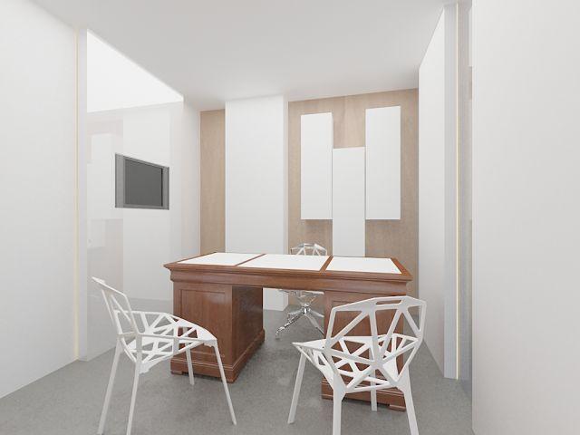 diseño de espacio interior en clínicas