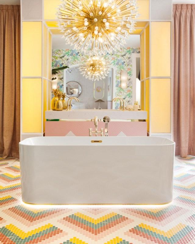 Baño de Nuria Alía en Casa Decor 2017