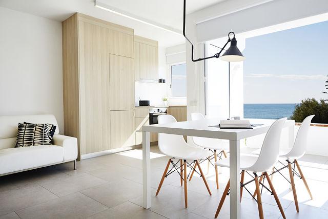 Diseño interior eficiente de vivienda