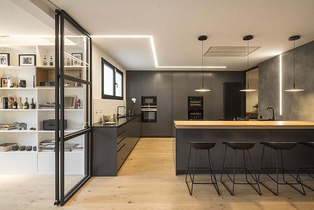 Idea interior de diseño de cocina