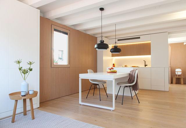 Interiorismo en la reforma de un mini apartamento