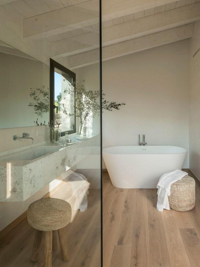 Arquitectura y diseño del baño principal
