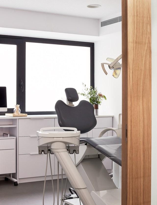 Decoración de consulta de clínica dental