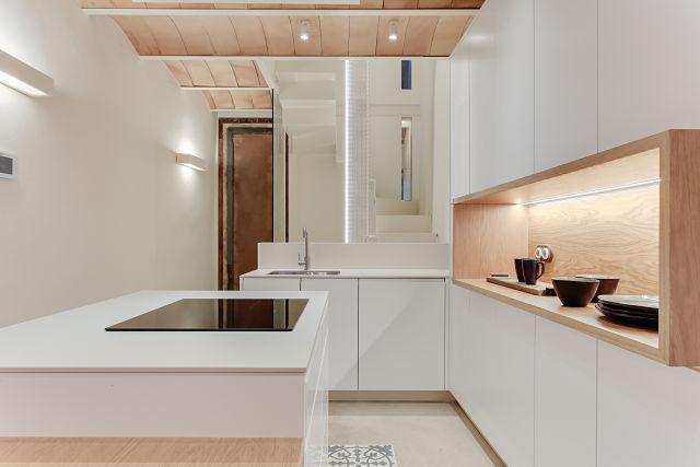 Reforma interior de cocina de casa