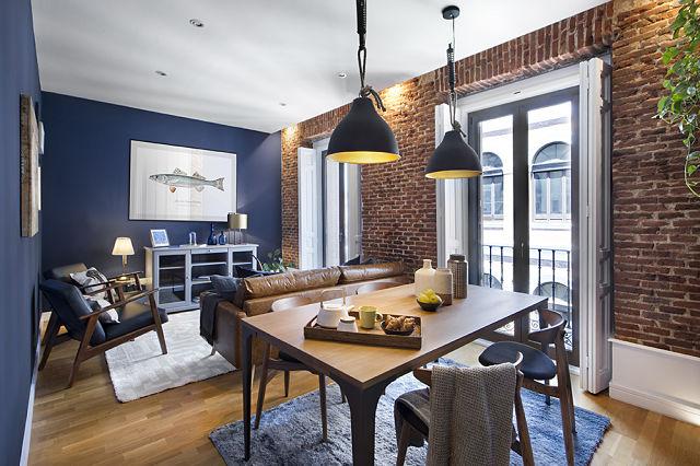 Decoración de apartamento de estilo british