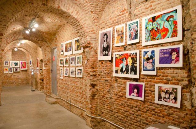 Bóveda de galería de arte La fiambrera