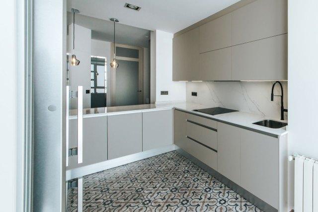 Interiorismo moderno en diseño de cocina