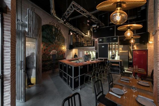 Interiorismo para restaurante Pracer