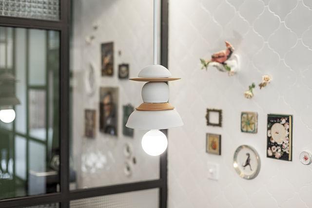 lámpara artesanal en diseño y decoración de hoteles