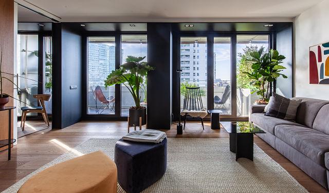 Diseño interior de casas modernas: apartamento Lull