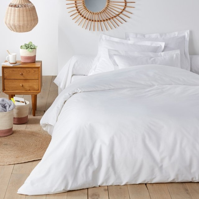 Funda nórdica color blanco para cama doble