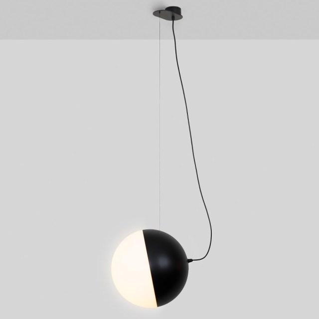 Lámpara colgante Half