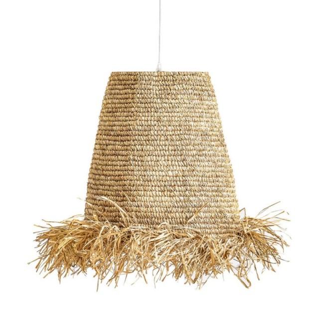 Lámpara de techo de rafia de Vical Home