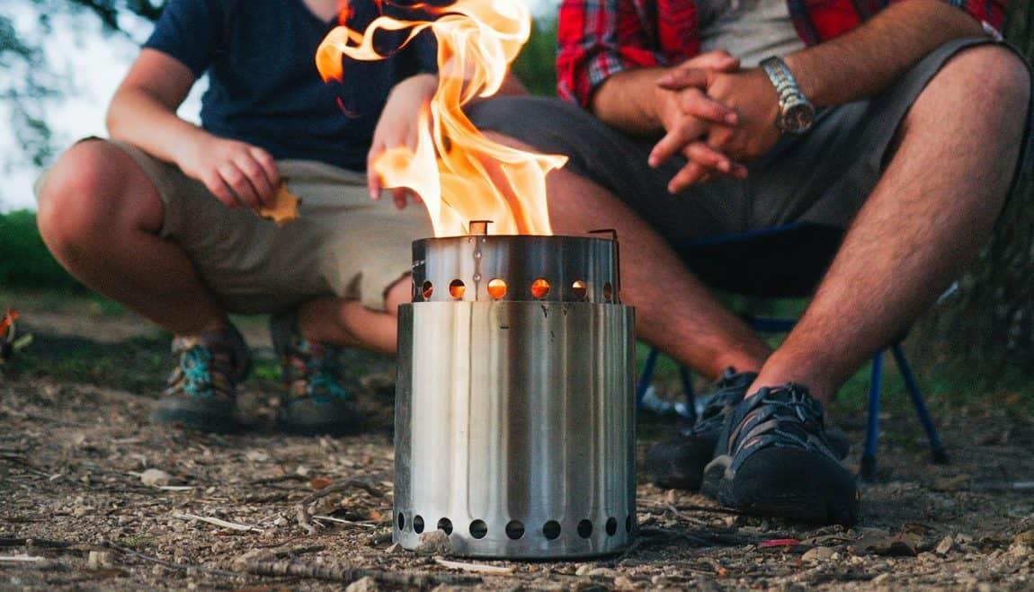 Wood Camping Stove Smokeless