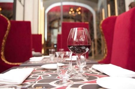 Le restaurant Les Climats