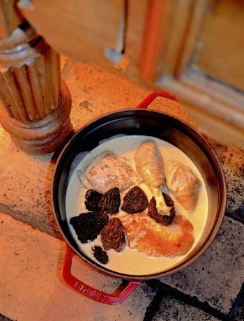 Poulet de Bresse à la crème de Georges Blanc