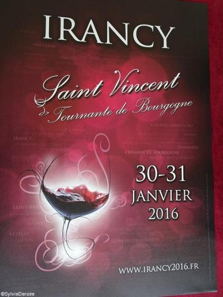 Affiche Irancy St Vincent TerroirEvasion.com