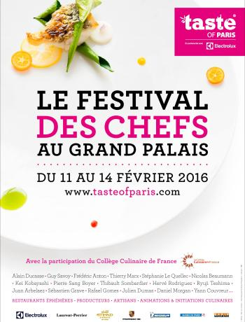 Taste of Paris 2016 affiche TerroirEvasion.com