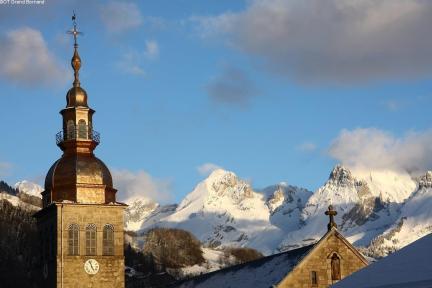 Eglise Aravis © OT Le Grand-Bornand TerroirEvasion.com